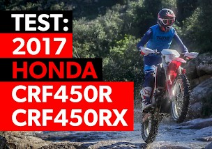 First Ride: Honda CRF450R and CRF450RX 2017