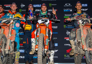 KTM erobert das 450SX Podium in Oakland
