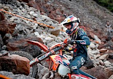 Lettenbichler führt World Enduro Super Series an.