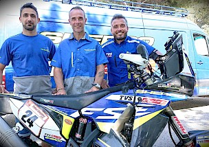 JOHNNY AUBERT: NEUER SHERCO TVS FACTORY RALLY TEAMFAHRER
