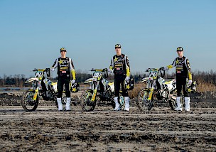 ROCKSTAR ENERGY HUSQVARNA FACTORY RACING 2020 MX2 TEAM