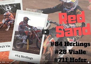 Herlings, Tom Vialle & Hofer RAW Red Sand Motocross Winter Training