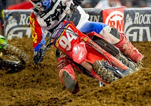 Pressemitteilung Honda Hrc Supercross in San Diego