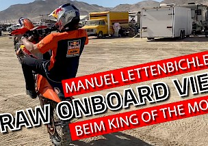 Manuel Lettenbichler RAW beim King of the Motos