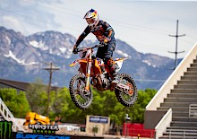 Das Red Bull KTM Factory Racing Team kehrt positiv in die AMA Supercross Serie zurück