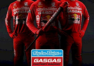 NEUES TROY LEE DESIGNS/RED BULL/GASGAS FACTORY RACING TEAM.