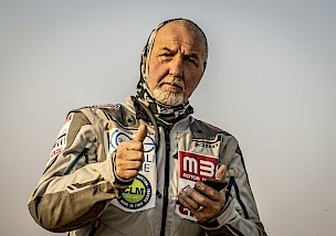 Rally legend Franco Picco finishes Dakar 2021 at age 65