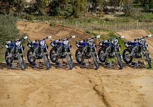 Monster Energy Yamaha Factory MXGP & MX2 Teams 2021
